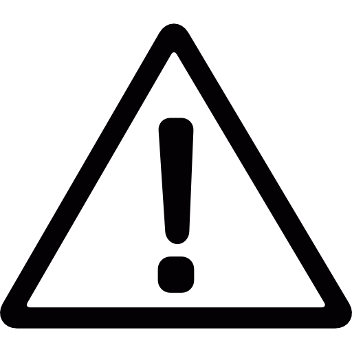 Exclamation Danger Triangle Exclamation Mark Warning Signs Icon