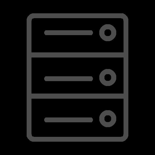 server server icon server line icon icon
