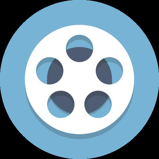 reel film reel movie film icon