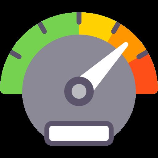velocity speedometer tools and utensils measuring icon