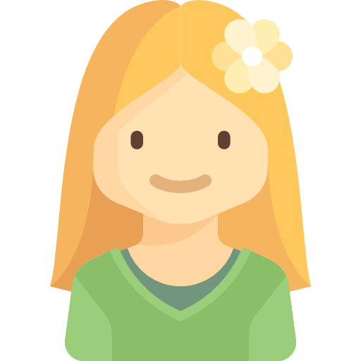kid people girl child user young profile avatar icon