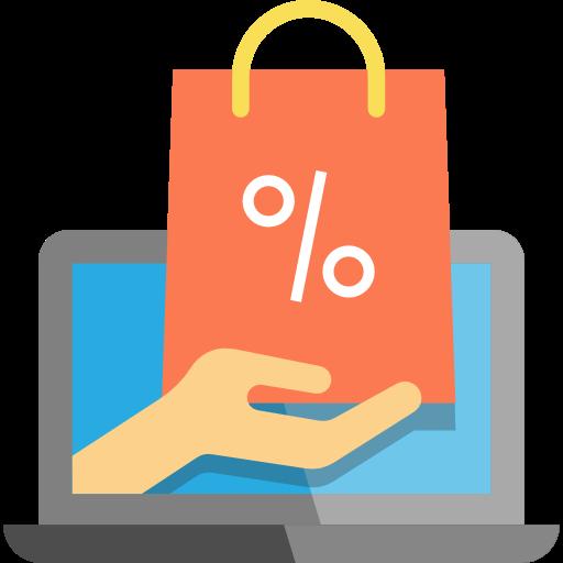 Multimedia, shopping cart, online shopping, website ...