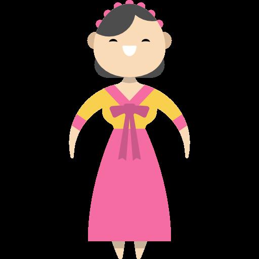People, Traditional, Korean, Culture, Ethnic, South Korea Icon