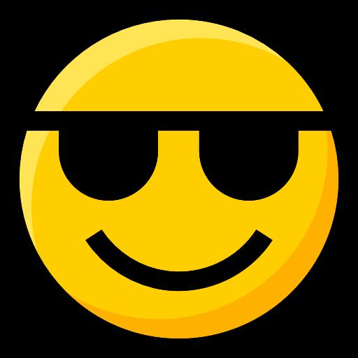 Ideogram, Emoji, Interface, Sunglasses, Feelings, Smileys