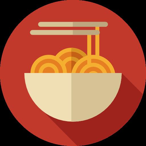 Italian Restaurant Logo With Flag: Italian Food, Food And Restaurant, Noodles, Pasta, Food