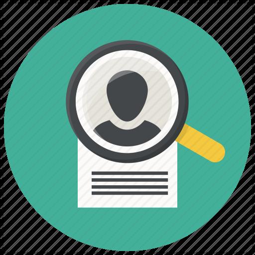 Document Search Cv Human Portfolio Resume Profile