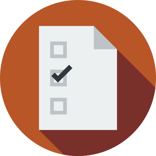 Paper Interface List Vote Election Election Icons Lists