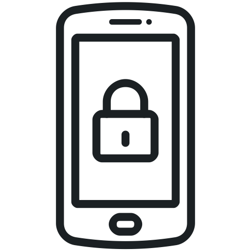 Lock mobile smartphone icon mobile security mobile for Mobel lossek