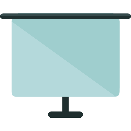Screen Powerpoint Presentation Interface Projector