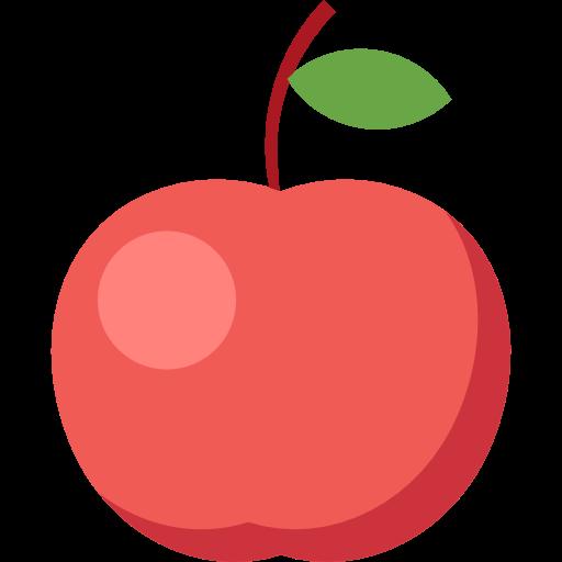 Apple food fruit organic diet vegetarian vegan healthy food food and restaurant icon - Apple icon x ...