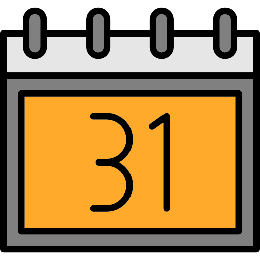 Calendar, date, event, halloween, October, Time And Date icon