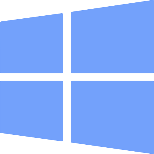 Windows Logo Brand Operating System Squares Icon
