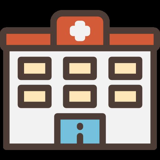 Building, clinic, health center, hospital icon