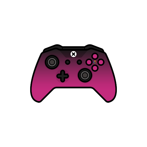 pink  controller  shadow  gamer  xbox one icon heart outline clip art vector heart outline clipart black and white