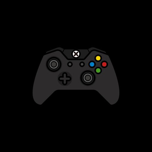 controller, original, Black, gamer, xbox one icon