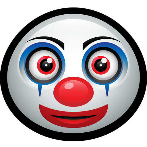 happy, funny, Mask, Clown, carnival, pennywise icon