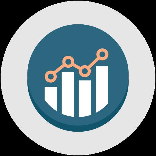 development  graph  performance  growth  optimization  productivity icon