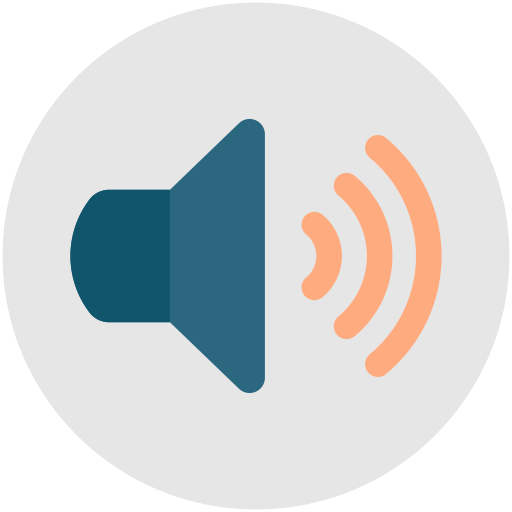 sound on volume on speaker volume audio icon