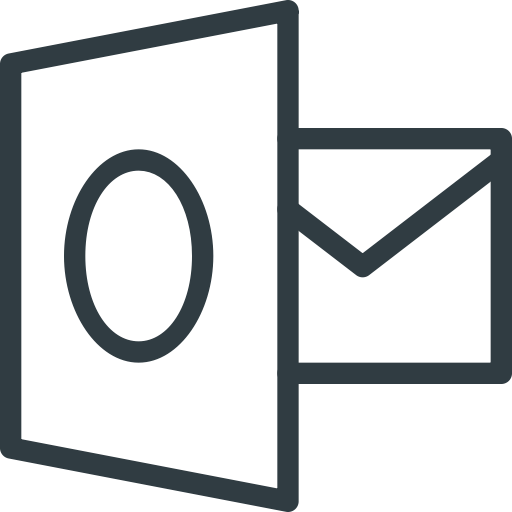 Outlook, Logo, Brand, Logos, Brands Icon