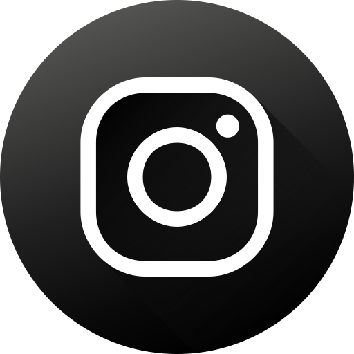 circle social media social instagram long shadow high