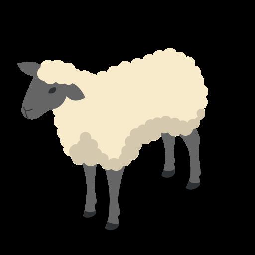 farm rural animal sheep animals icon