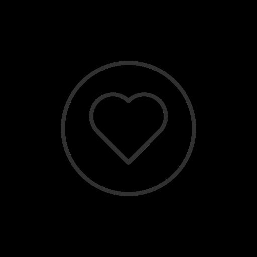 Heart Love Facebook Emoji Icon