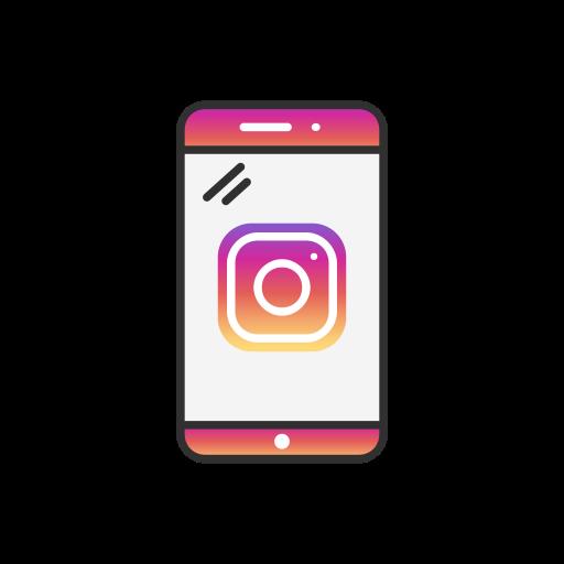 phone logo instagram instagram logo icon