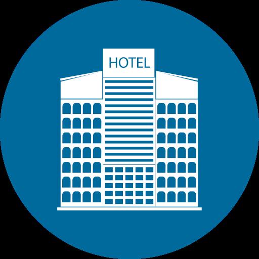 Home Building City Hotel Icon