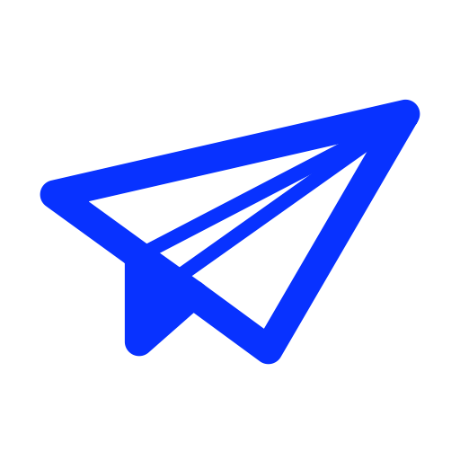 Delivery, airplane, Email, paper, mail, send, sent icon
