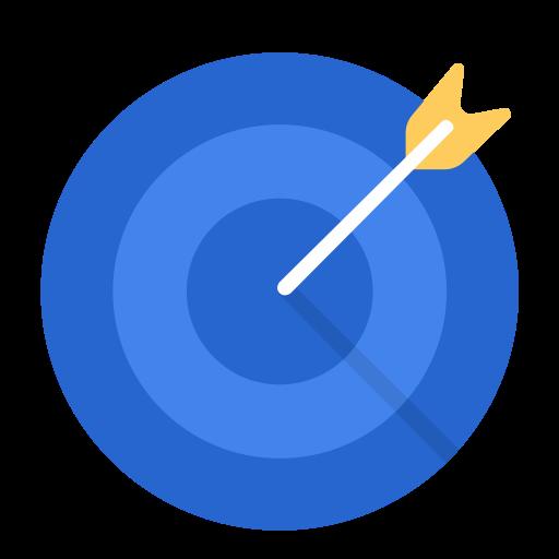 aim business work target goal icon aim business work target goal icon