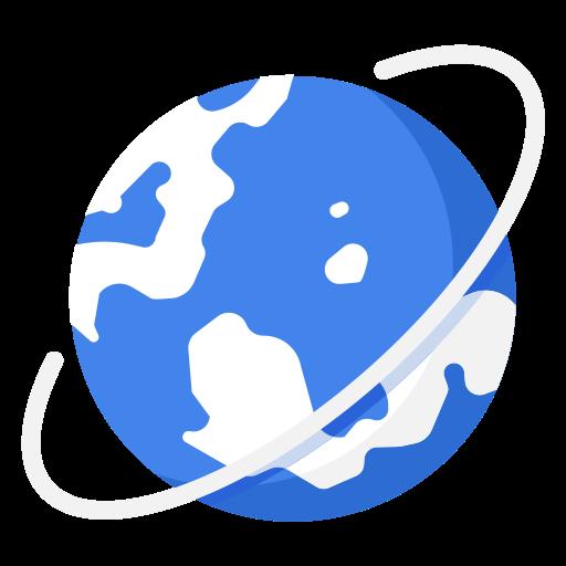 Globe International World Business Work Icon